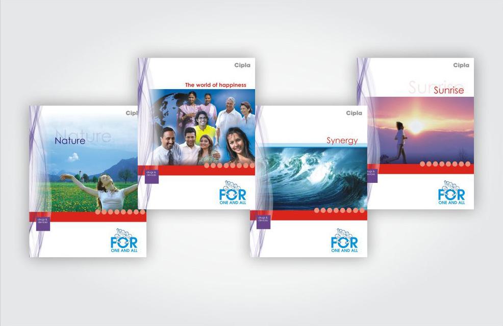 Cipla Brochure Design