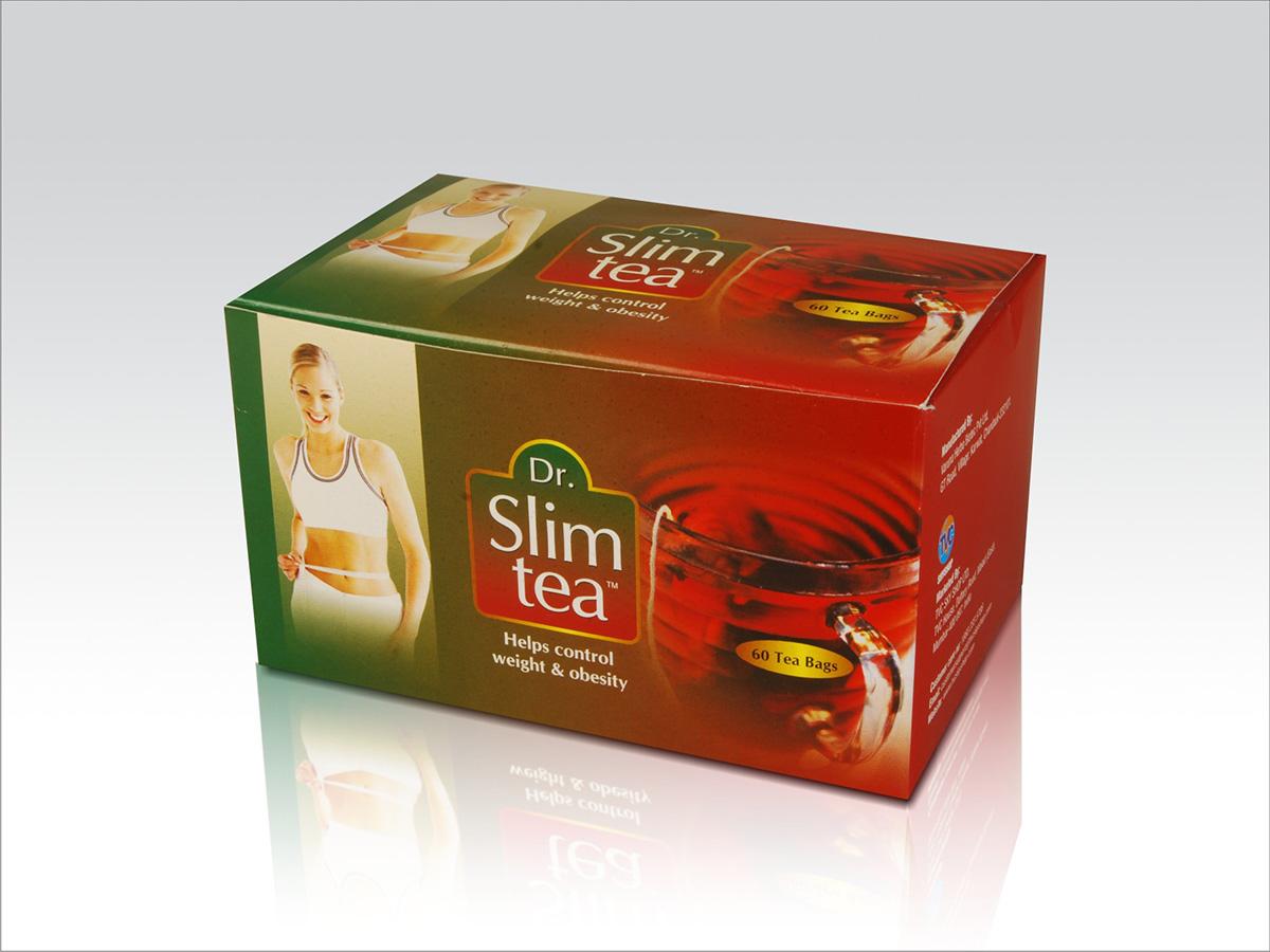 Packaging - Dr. Slim Tea