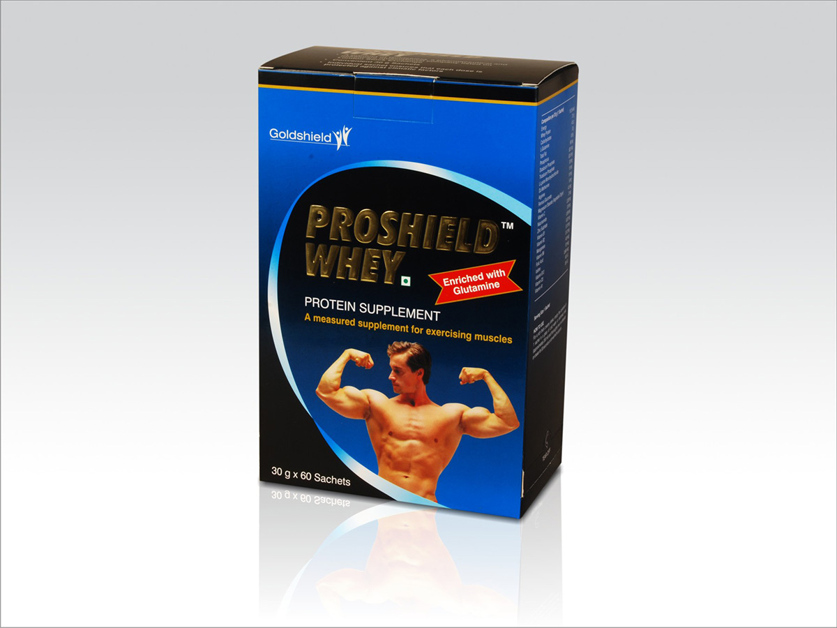 Packaging Design - Goldshield